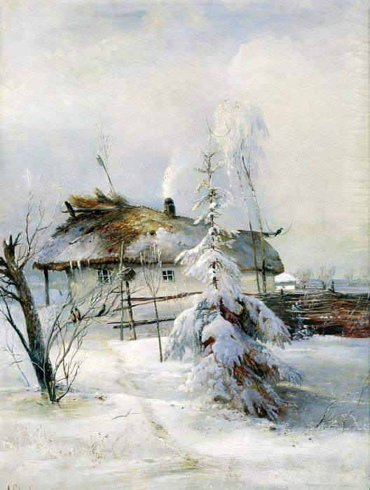 Зима.Алекс.Саврасов (528x700, 67Kb)