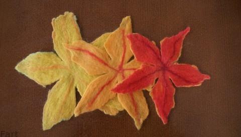 Цветы в технике мокрого валяния из шерсти. Фото мастер-класс (12) (480x272, 74Kb)