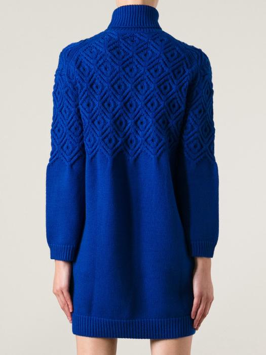蓝色绞花织衣 - 紅陽聚寶 - 紅陽聚寶 歡迎來訪