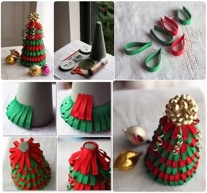 Как сделать красивую елку на новый год из бумаги