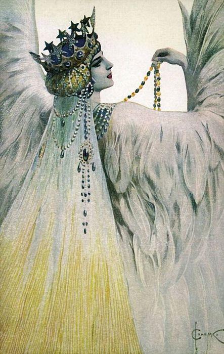 1Соломко Сергей Сергеевич (1867-1928) Мария Лебедь Белая (443x700, 69Kb)