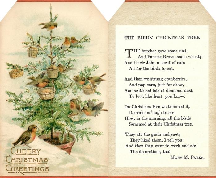 Винтажные картинки и идеи для создания подвесок, тэгов и рождественских гирлянд (2) (700x577, 328Kb)