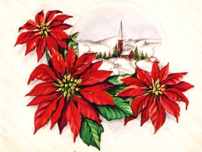 Винтажные картинки и идеи для создания подвесок, тэгов и рождественских гирлянд (29) (700x527, 229Kb)