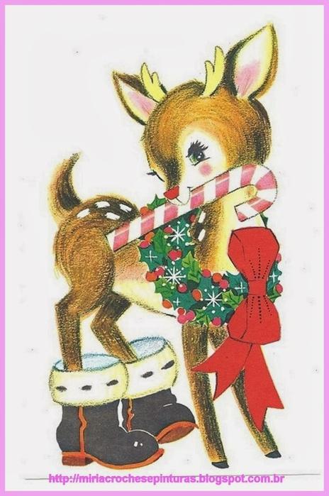Винтажные картинки и идеи для создания подвесок, тэгов и рождественских гирлянд (41) (464x700, 199Kb)