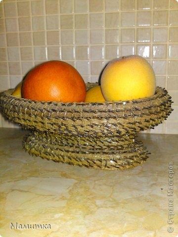 Плетение из сосновых иголок от Мамитка. КОЛОКОЛЬЧИКИ (1) (360x480, 106Kb)
