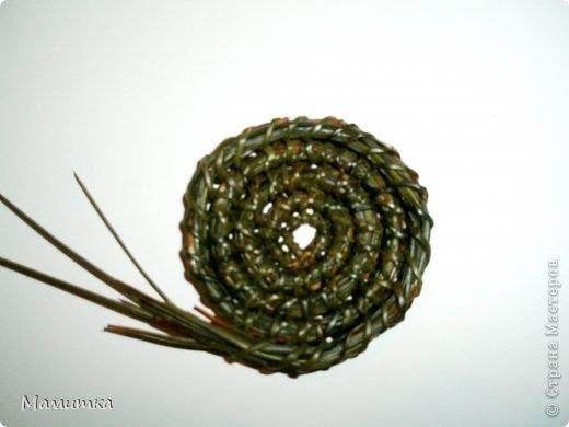 Плетение из сосновых иголок от Мамитка. КОЛОКОЛЬЧИКИ (5) (520x390, 67Kb)