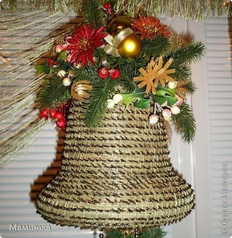 Плетение из сосновых иголок от Мамитка. КОЛОКОЛЬЧИКИ (15) (468x480, 217Kb)