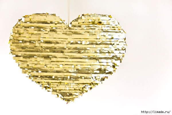 DIY-Gold-Heart-Pinata (600x400, 118Kb)