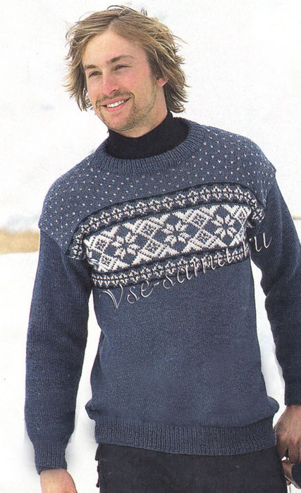 Muzhskoi-pulover-spitcami-s-risunkom-ris (427x700, 89Kb)