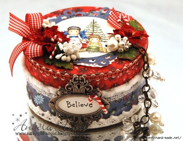 Wrapped & Unwrapped Tilda Altered Box 2 by Angie Hunt w snowflake (600x465, 197Kb)