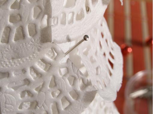 Новогодняя елочка из кружевных бумажных салфеток (7) (510x380, 482Kb)