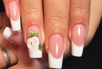 Гелевые ногти-новый дизайн
