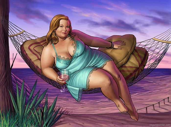 очаровательные толстушки фото