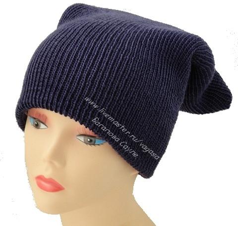 шапка на зиму вязаная