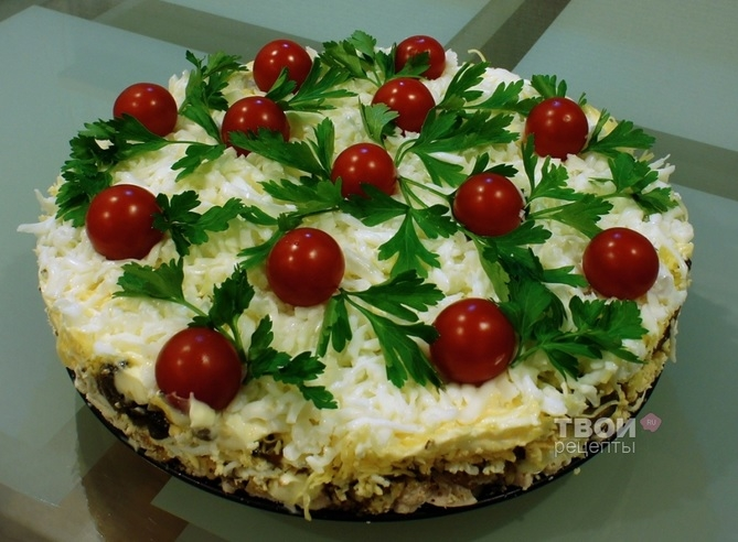 Салат с курицей и грибами с сайта tvoirecepty (3) (669x492, 214Kb)