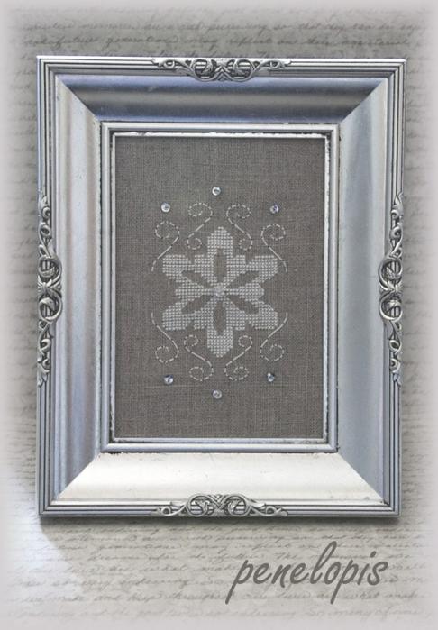 Рождественская вышивка. Елочка, снежинка и сапожок (9) (486x700, 228Kb)