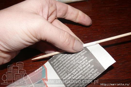Плетене на кошници от хартия