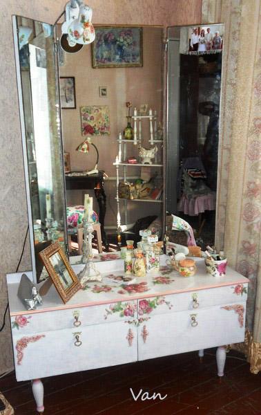Реставрация старого трюмо Самоделкино Мебель своими