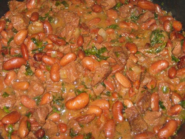 Рецепты мяса с фасолью