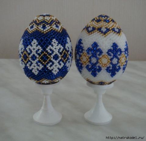 Оплетенное яйцо - ажурная