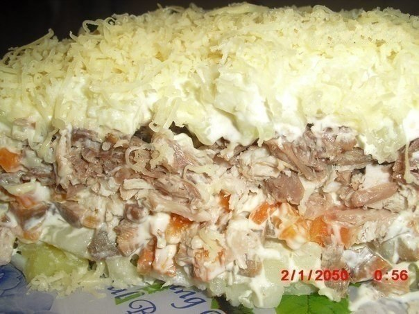 Салат с мясом (604x453, 72Kb)