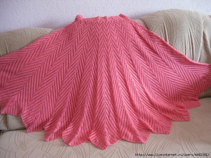 钩针:大女孩的裙子 - maomao - 我随心动