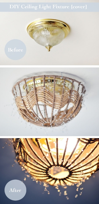 DIY ceiling light fixture cover-nautical pendant romantic lamp (340x700, 154Kb)