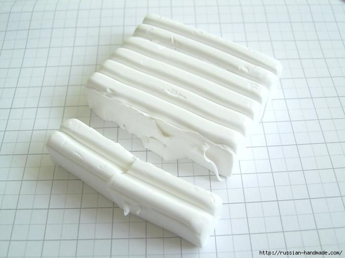Как слепить кролика из полимерной глины. Фото мастер-класс (10) (700x525, 196Kb)