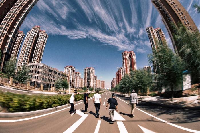 город призрак ордос китай фото 1 (700x466, 437Kb)