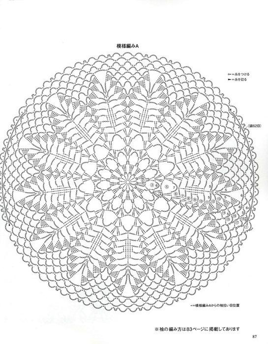 Mandala Uncinetto Schemi Awesome Mandala Schemi Uncinetto With