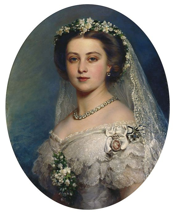 Franz Xaver Winterhalter-Victoria, Princess Royal  (568x700, 63Kb)