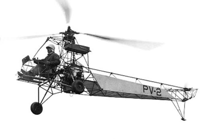 «VS-300» И.И. Сикорского).