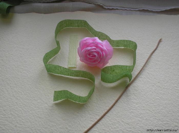 цветы из гофрированной бумаги (25) (700x523, 237Kb)