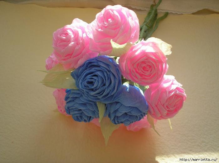 цветы из гофрированной бумаги (27) (700x523, 230Kb)
