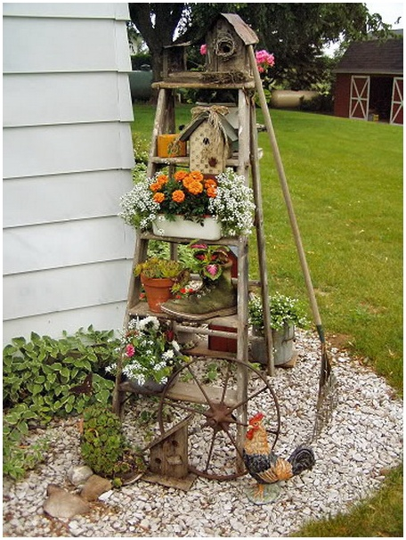 6-Outdoor-Decor-Ideas-with-Ladder-for-Outdoor-Garden-2 - копия (456x606, 357Kb)