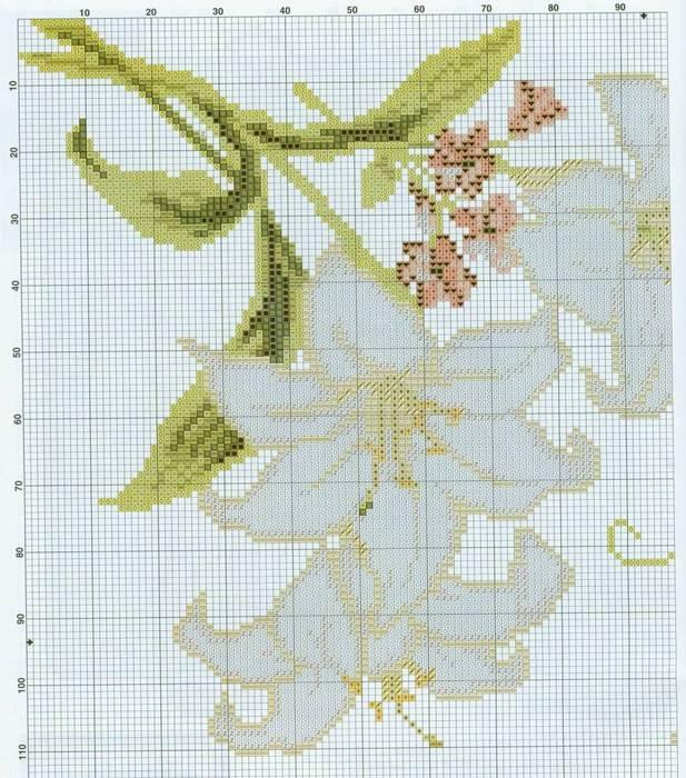 белая лилия1 (617x700, 95Kb)