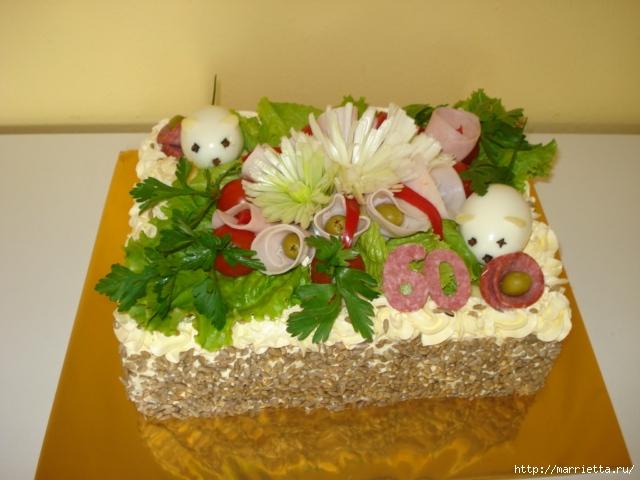 Соленый закусочный торт. Идеи оформления к ПАСХЕ (35) (640x480, 199Kb)