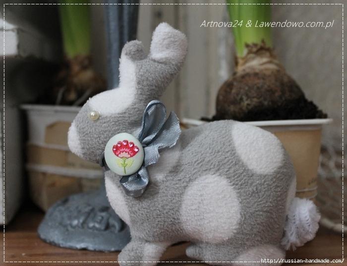 Как сшить пасхального кролика (6) (700x537, 263Kb)