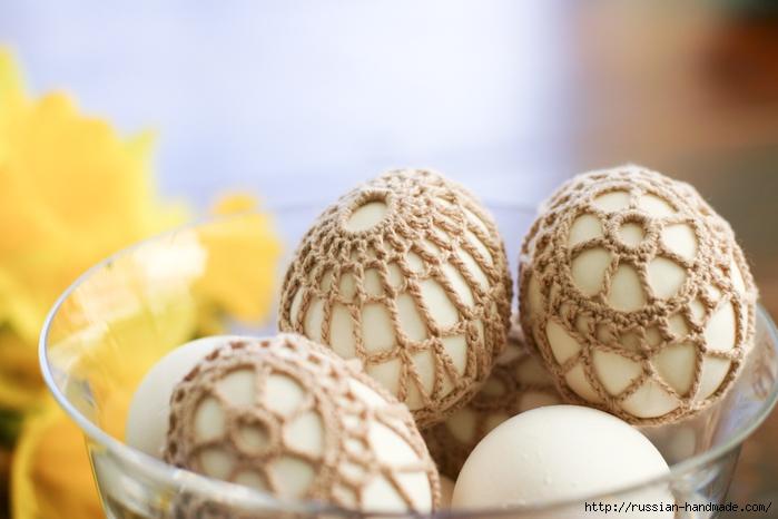 Как обвязать крючком пасхальное яйцо. Фото мастер-класс (31) (700x466, 202Kb)