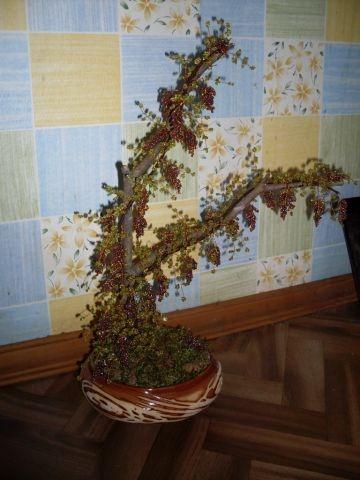 Виноградное дерево из бисера. Мастер-класс (13) (360x480, 93Kb)