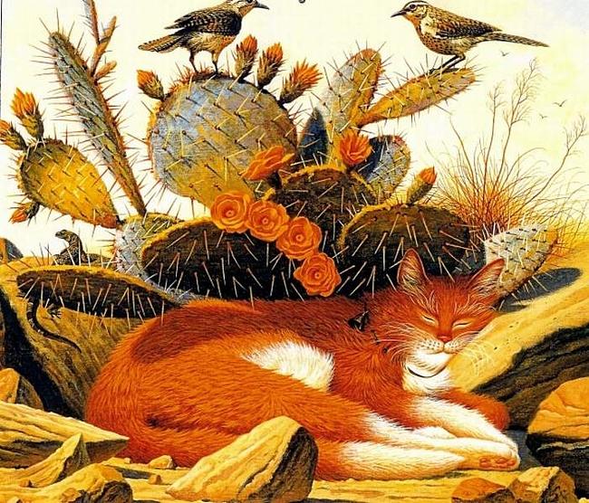Работы художника Чарльза Высоцки (Charles Wysocki)