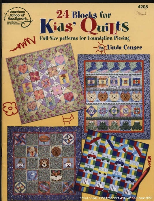 24 Blocks Kids' Quilts 000 (534x700, 434Kb)