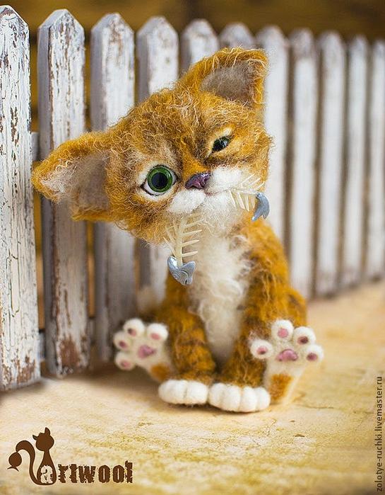 этого котенка в корзинке: