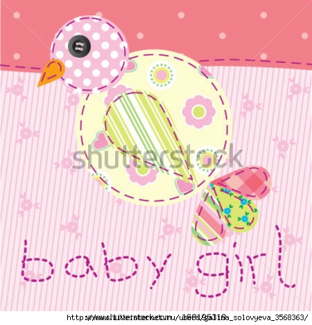 stock-vector-baby-girl-pink-patchwork-with-bird-169195319 (450x468, 129Kb)