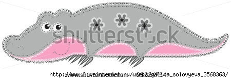 stock-vector--fabric-animal-cutout-crocodile-cute-animal-character-in-decorative-style-on-white-background-98224754 (450x157, 43Kb)