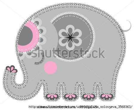 stock-vector-fabric-animal-cutout-elephant-cute-animal-character-in-decorative-style-on-white-background-73061248 (450x370, 80Kb)