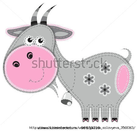 stock-vector-fabric-animal-cutout-goat-cute-animal-character-in-decorative-style-on-white-96859318 (450x431, 80Kb)