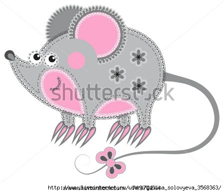 stock-vector-fabric-animal-cutout-mouse-cute-animal-character-in-decorative-style-on-white-background-74970244 (450x388, 75Kb)