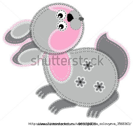 stock-vector-fabric-animal-cutout-rabbit-cute-animal-character-in-decorative-style-on-white-background-96859309 (450x429, 82Kb)