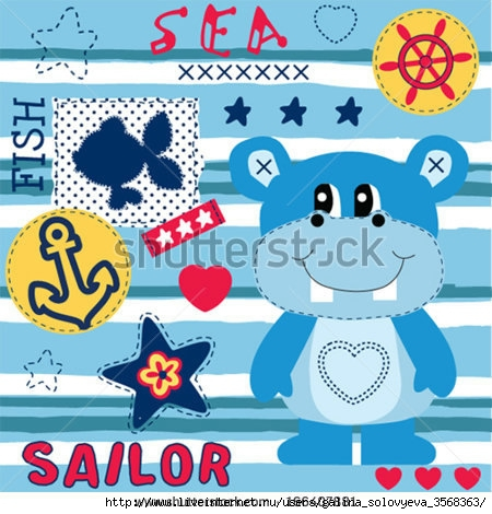 stock-vector-hippo-sailor-background-vector-illustration-166407881 (450x470, 156Kb)